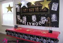 Movie Party Ideas / Check here for ideas for food, activities and decor for movie parties.