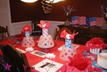 Sports Theme Parties / Decor, food and activities ideas for sports parties