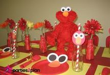 Sesame Street Party Ideas / Ideas for Sesame Street parties--decorations, favors, activities, food, and more