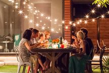 Parties and Picnics / Lots of ideas for parties inside and out, a table for two or two hundred. Come and join us to celebrate.
