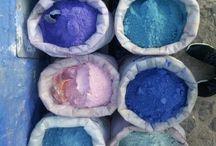 Chefchaouen's colors