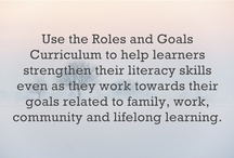 Planning and Progress / The board features resources about the CLLS roles & goals framework, lesson planning, progress evaluation and building a positive tutor/student relationship.