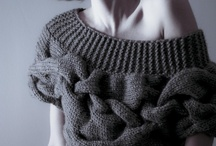 Top knitting / Tricot hauts