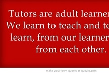 Online Tutor Training  / Refresh your tutoring skills by taking a free online tutor training course or getting tutoring tips from publications for tutors. Inspire yourself by listening to tutors/learners reflecting on their experiences.