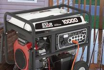 Backup Generator Power / The Nation's #1 Direct Supplier Of Generators.  / by Northern Tool + Equipment