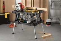 Garage + Workshop / Create the home workshop of your dreams with proper supplies including: work benches, shop seats + work tables. Assemble your work space with innovative equipment from Northern Tool! / by Northern Tool + Equipment
