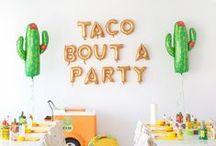 ∆ Tex-Mex party ∆