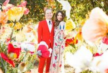 ∆ wedding ∆ / Colourful inspiration for unusual but chic weddings, with plenty of DIYs and tips on etiquettes and planning too.