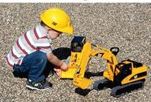 Kid's Outdoor Toys / Kid's Imagination's Run Wild With Classic Outdoor Toys + Games From Northern Tool. Browse A Selection Of Top Brands Such As: Tonka, Case, CAT, John Deere, And Many More! / by Northern Tool + Equipment