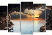Para perderte en ellos... / Cuadros en lienzo de paisajes en formato panorámico (2x1m o 150x80cm), que decoran un amplio espacio de una forma diferente.