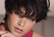SCURO CORTO / Come si adatta il capello scuro sui più bei tagli corti si stagione? Scoprilo in questa bacheca!