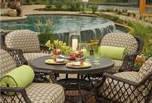Outdoor Spaces / fire pits, decks, outdoor decor