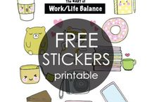 Lists & Printables / Printable to do lists, planner stickers, worksheets, and more