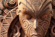 Whakairo : Carving - Wood / Toi whakairo (art carving) or just whakairo (carving) is a Māori traditional art of carving in wood, stone or bone.
