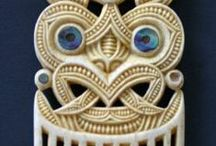 Whakairo : Bone Carving / The Māori art of Bone Carving.