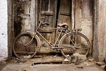 Forgotten Treasures / Abandoned, rusted, creaky, weathered. Imagine the stories...