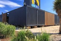 Shipping Container Homes / Royal Wolf - Creating outdoor living spaces with shipping containers.