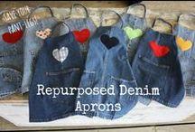 Zelf maken - met oude jeans en kleding