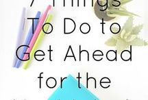 Productivity / Time management and productivity tips to help you make the most of your day!