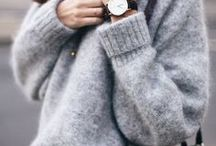 Winter / Comfy oversized sweaters and other cute stuff
