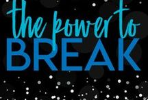 THE POWER TO BREAK / The Power to Break (The Unbreakable Thread Book One)  Will she give into love or use her power to break him?  Goodreads: http://bit.ly/TPTBGoodreads
