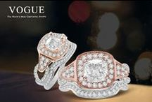Designer:  Vogue / Star Gems is a leading manufacturers of designer, bridal engagement rings, and high-end fashion jewelry, including earrings, pendants, and bracelets.