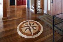 8 &16 Tip Star Floor Medallions / 8 &16 Tip Star Floor Medallions can be used for floors, walls, ceilings, counter tops, in homes, on boats almost anywhere you want some decoration!