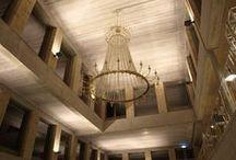 Shopping center, Sweden / A monumental Wranovsky chandelier - 300 cm x 440 cm in size!