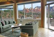 Sedona Vacation Home: Little House on the Vortex. / High-up Views from personal perch on Airport Mesa.
