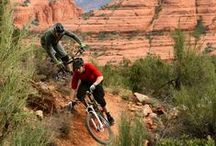 BIKING Sedona / Sedona has quickly become the hot spot for bikers from all over the world. Come and visit. www.sedonavacations.com   See you soon!