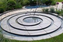Vann i hagen/ Water Features