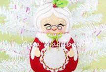 Christmas - Navidad / A variety of awesome handmade Christmas creations