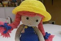 Amigurimis / todo tipo de amigurimis y muñecos hechos de ganchillo o media.