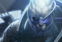 Mass Effect / Kedvenc karakterek, főleg Garrus Vakarian és a turiánok.