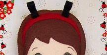 Dolls / Handmade dolls, hand or machine sewn