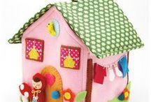 Dollhouses & Quiet Books