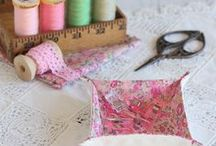 Sewing / Hand or machine sewn fabric creations
