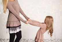 matching outfits / Plan your mother/daughter matching outfits with Tomorrow's Outfit Stylizer.