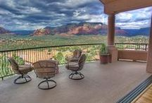 Sedona Vacation Home: MAJESTIC / Private luxury home with elegantly decorated interiors and outstanding, one of a kind wide angle red rock views, promise a five star Sedona experience from inside and out of this spacious hillside villa.   http://redrockrealty.net/rental-homes/majestic/