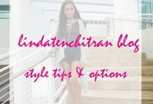 LINDATENCHITRAN BLOG / Photos from LINDA TENCHI TRAN blog. Style tips, style options, best places to find deals, outfits.
