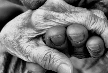 Beauty in Age / Every wrinkle tells a story.  / by Val K