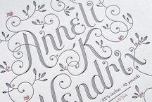 Letterpress trouwkaarten - Letterpress wedding invitations / Prachtige trouwkaarten in Letterpress - Beautiful Letterpress wedding invitations!