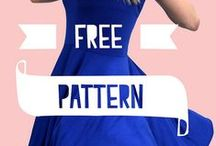 Free Fabulous Garment Patterns / A variety of easy, free garment patterns and tutorials for both re-purposing old clothing and making new ones from scratch.