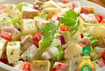 Potato Salads / Wow the crowd with these easy & delicious side dishes.