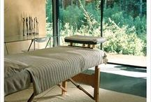 Therapy Room Inspiration / Ideas to create your perfect holistic/massage therapy room.