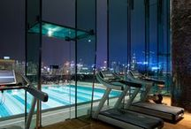 Awesome Gyms & Health Clubs / Luxury gyms and health clubs that look amazing.