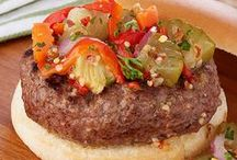 Burgers, Sliders & Sandwiches / Delicious recipes for your favorite hand-held eats!