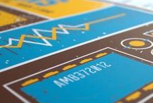 Gigposters and Prints / Posters designed and screen printed by The Workweek Design Studio