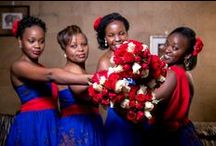 Red Wedding Ideas / http://weddingskenya.com