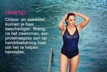 Love your swim / Geniet voor, tijdens en na het zwemmen.